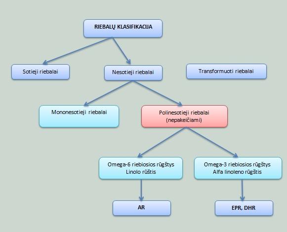 Riebalu klasifikacija